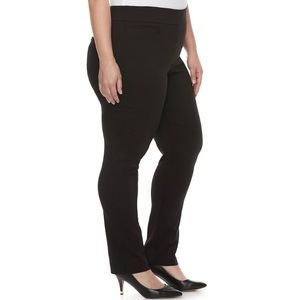 Apt 9 Mid-Rise Straight Stretch Pants Sz 24WS